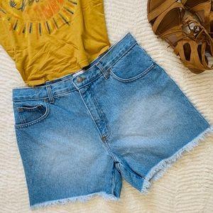 Vintage Moda Intl Cotton high rise shorts Sz 12
